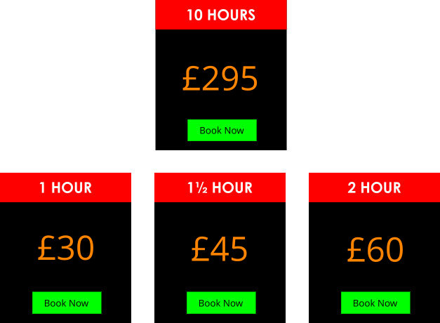 driving lesson prices wakefield